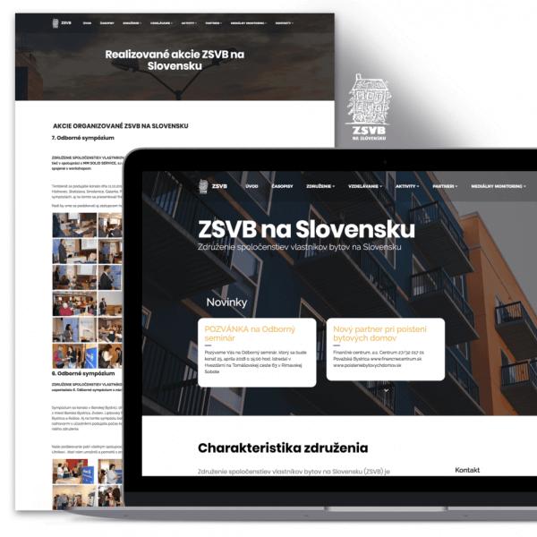 Prezentačný web pre ZSVB