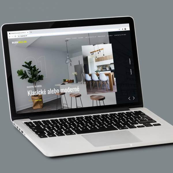 Webová stránka RUDYMAX