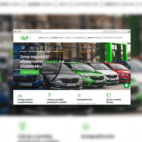 Webová stránka QALT