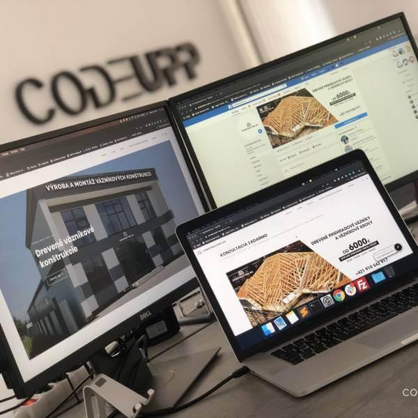 Webová stránka CONSTRUCTOR-EU